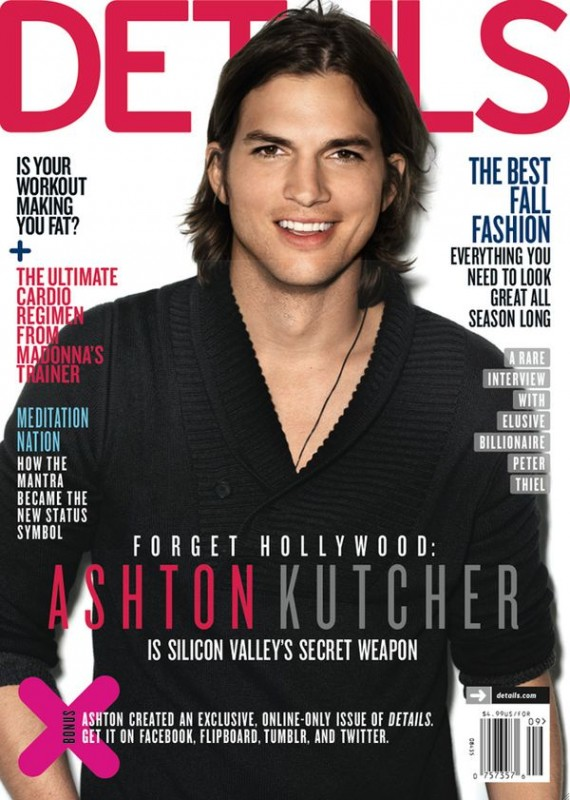 Ashton Kutcher by Matthias Vriens McGrath