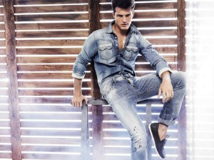 Diego Miguel for Just Cavalli SS12_02