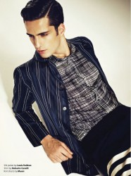 Janice Fronimakis in Essential Homme_11