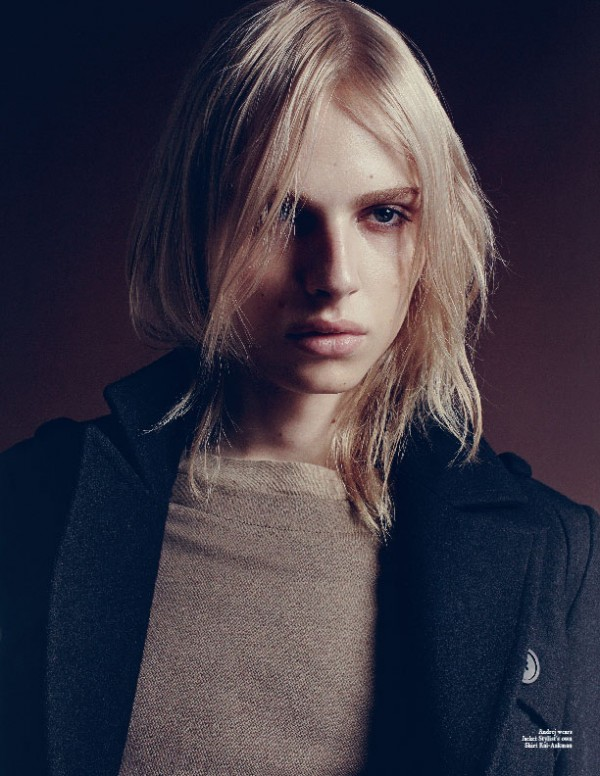 Andrej Pejic in Carbon Copy