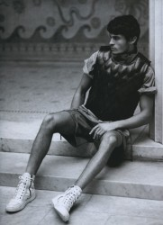 Baptiste Giabiconi in Numero Homme 23_03