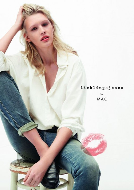 Nadine Wolfbeisser for Mac Jeans