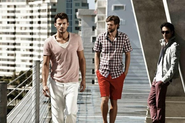 Alex, RJ and Philip  for Hugo Boss Black Sport