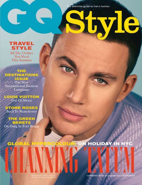 Channing Tatum in GQ Style