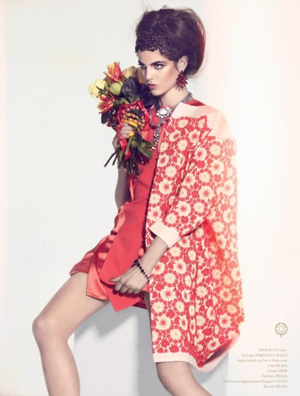 Aline Zanella in Oui Magazine