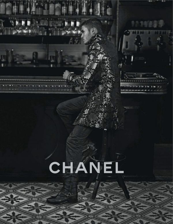Baptiste Giabiconi for Chanel
