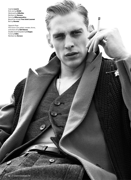 Jeremy Dufour in Essential Homme Magazine_01