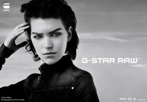 Arizona Muse for G-Star Raw_02