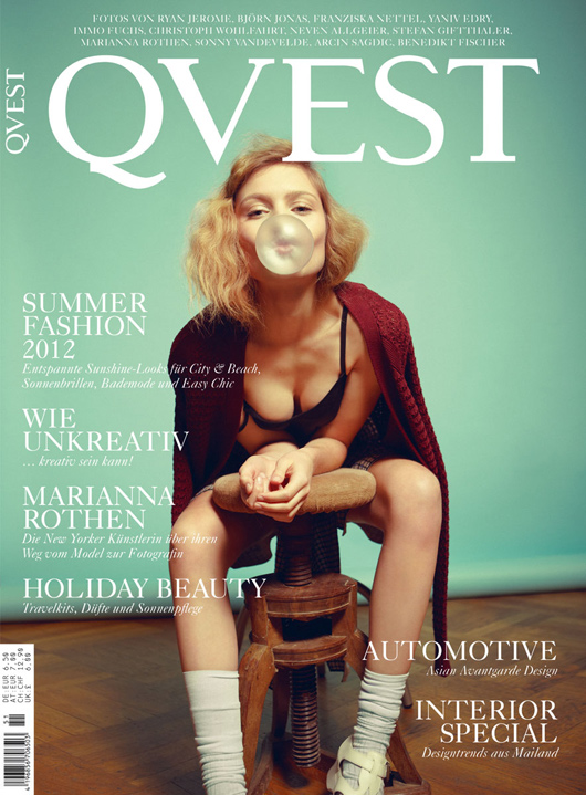 Caroline Corinth in Qvest Magazine_01