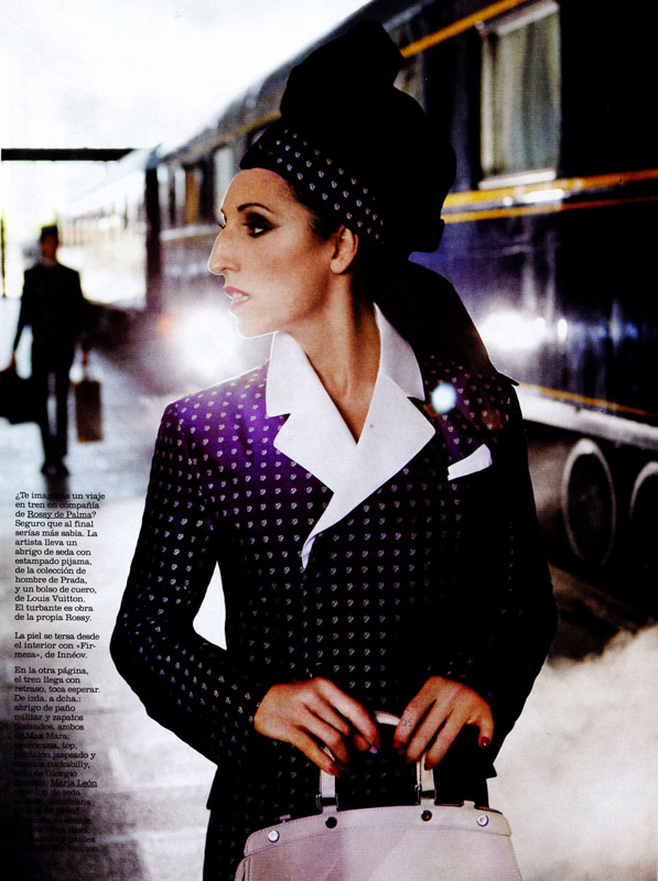 Rossy de Palma in Marie Claire