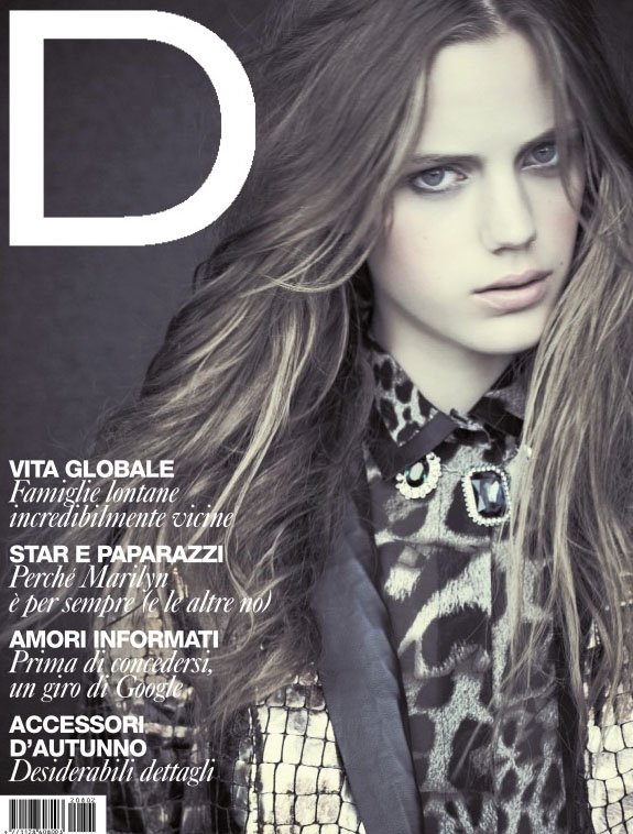 Esther Heesch on the cover of D Magazine