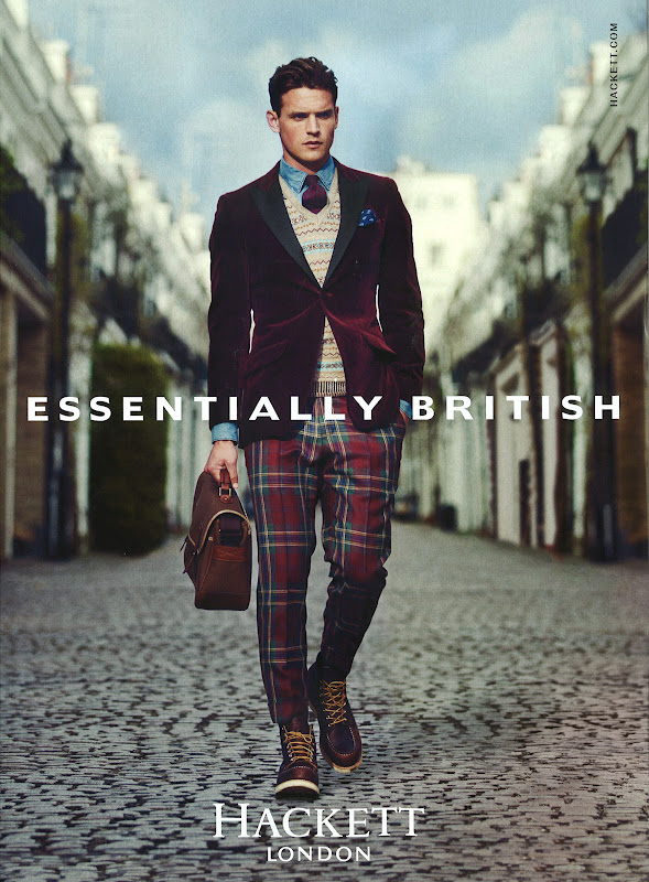 Guy Robinson for Hackett London