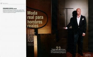Eduardo Sayas in Men's Health