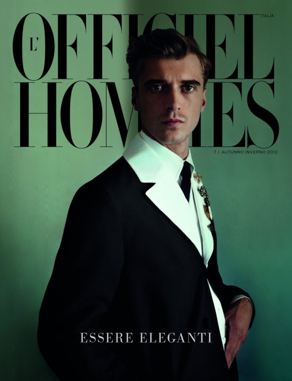 Clement Chabernaud for L'Officiel Hommes Italia