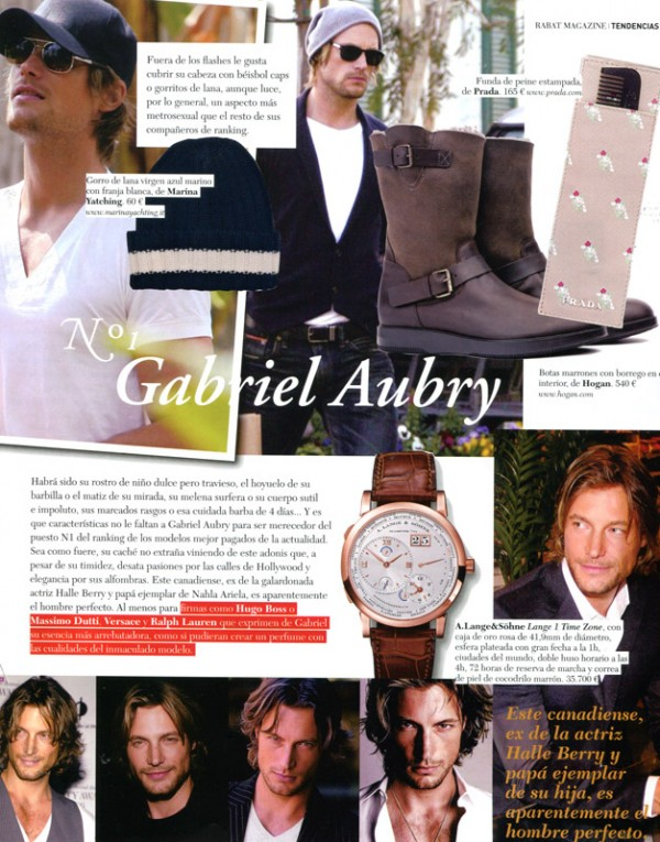 Gabriel Aubry, Andres Velencoso, Oriol Elcacho, Mark Vanderloo and Arizona Muse in Rabat_2