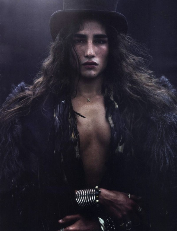 Willy Cartier in Numéro Homme_2