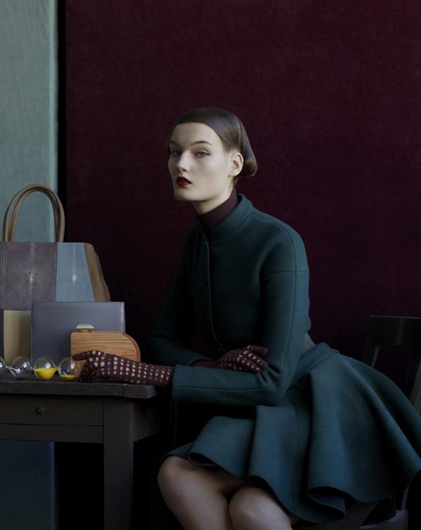Kirsi Pyrhonen by Julia Hetta (Noblesse Nordique - M Le Monde December 2012) 1