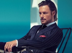 Gabriel Aubry Hugo Boss Black SS2013 2