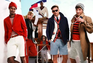 Max Rogers and Arthur Kulkov Tommy Hilifiger SS2013 2