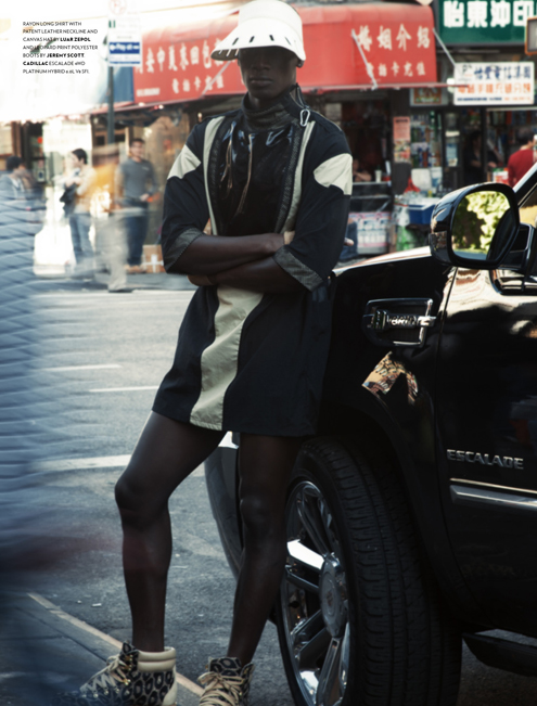 David Agbodji in Flaunt Magazine 5