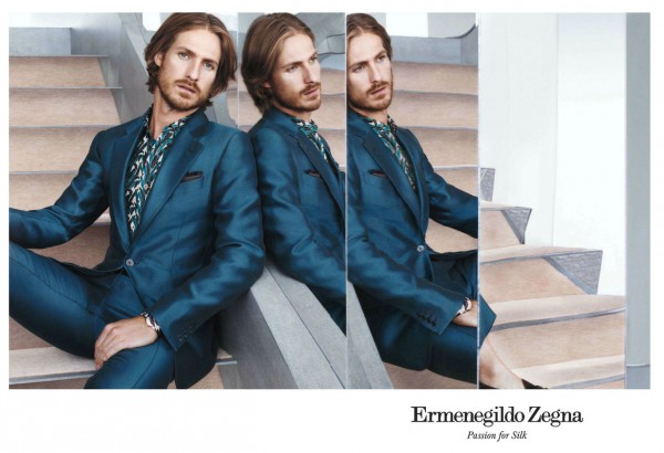 Ryan Burns for Ermenegildo Zegna 1