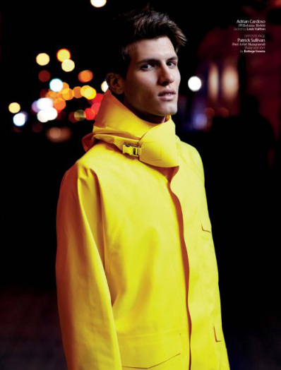 Adrian Cardoso in August Man Magazine