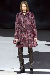 Agne Konciute for Chanel FW 2013-2014
