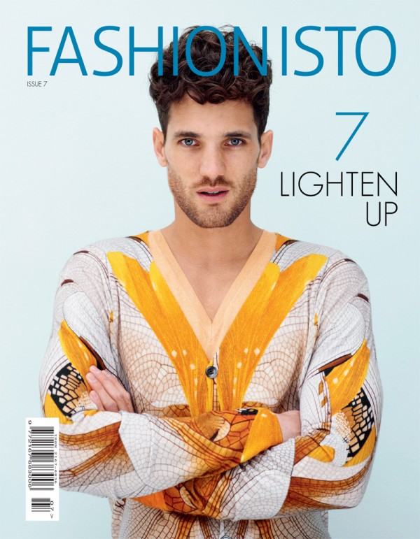 Max Rogers on Fashionisto 7 cover