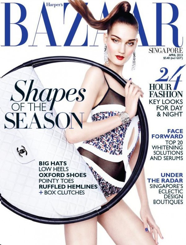 Harpers Bazaar Singapore April2013