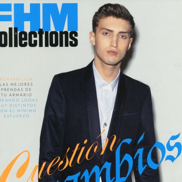 Charlie France in FHM Collections