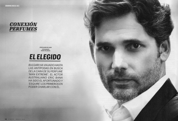 Eric Bana in Esquire Magazine Spain 1