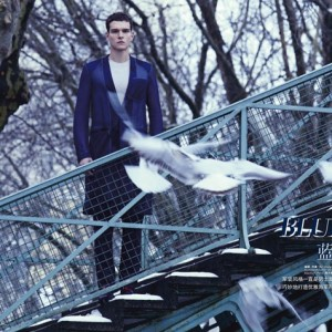 Alex Cunha in L'Officiel Hommes China