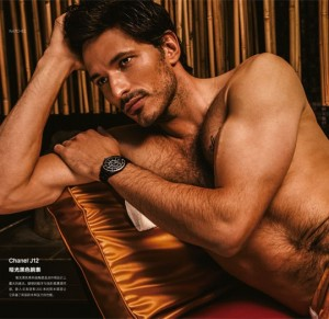 Andres Velencoso L'Officiel Hommes China