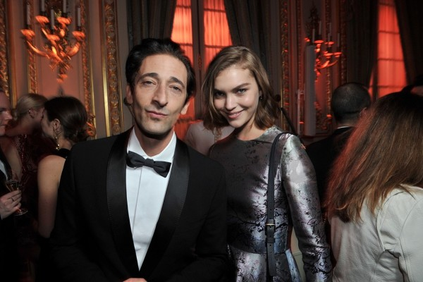 Adrien Brody & Arizona Muse