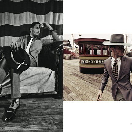 Baptiste Giabiconi in DSection Mag