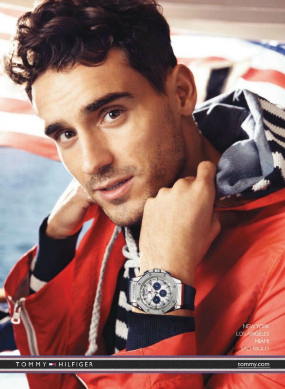 Arthur K by Craig McDean for hilfiger_watches