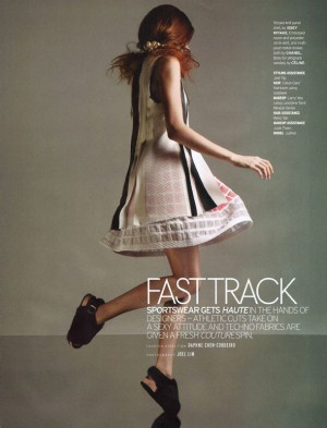 Jasmin Jalo in ELLE Singapore3