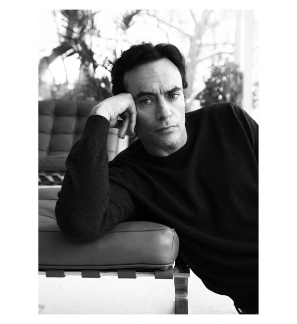 Anthony Delon in InStyle Mag 2