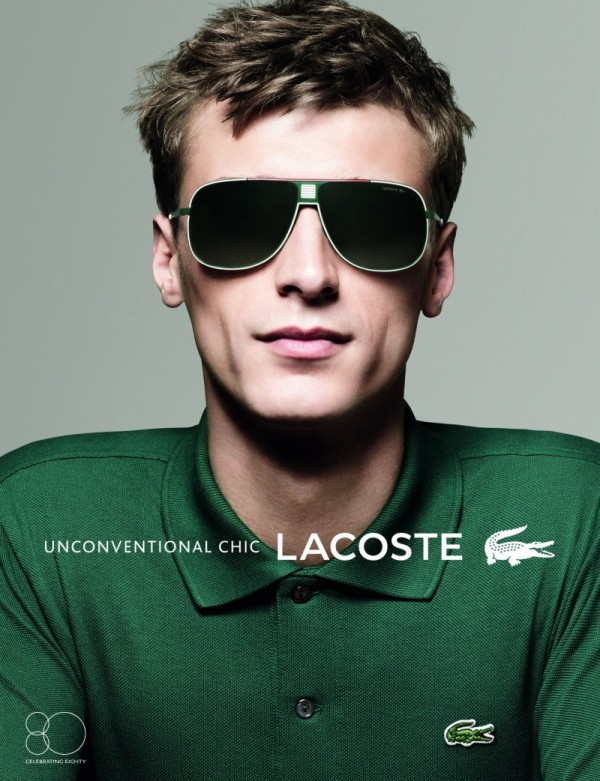 Lacosts Sunglasses SS2013 by David Sims