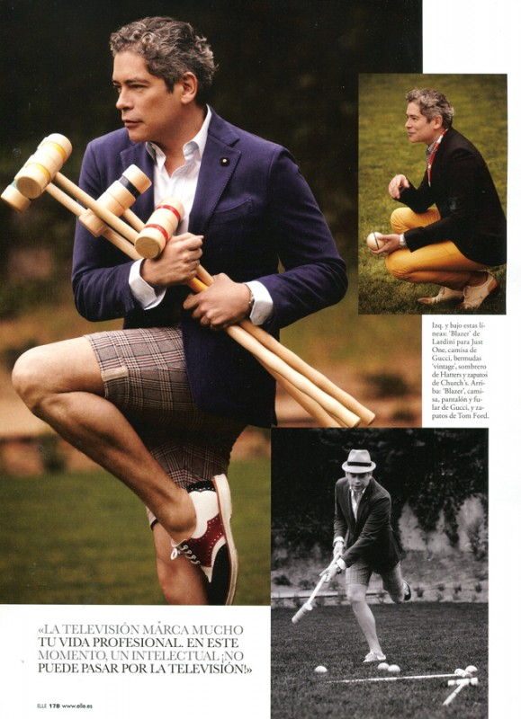 Boris Izaguirre in Elle Spain 1