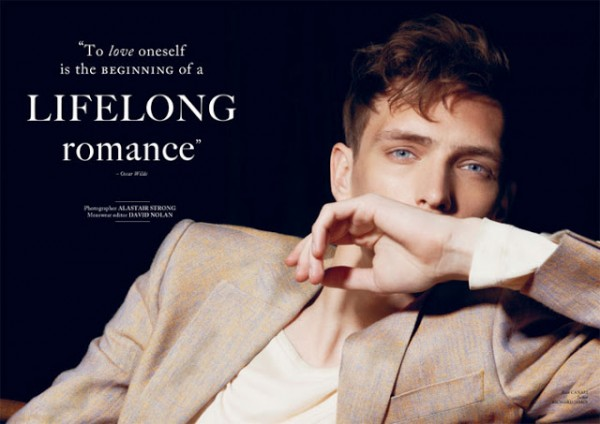 Yannick Abrath by Alastair Strong - To Love Oneself is The Beginning Of A Lifelong Romance 1