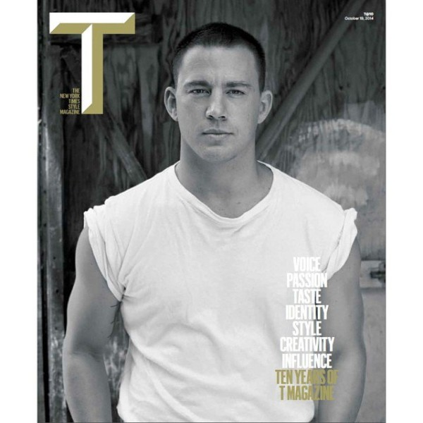 Channing-Tatum-T-Magazine-October-2014-Cover