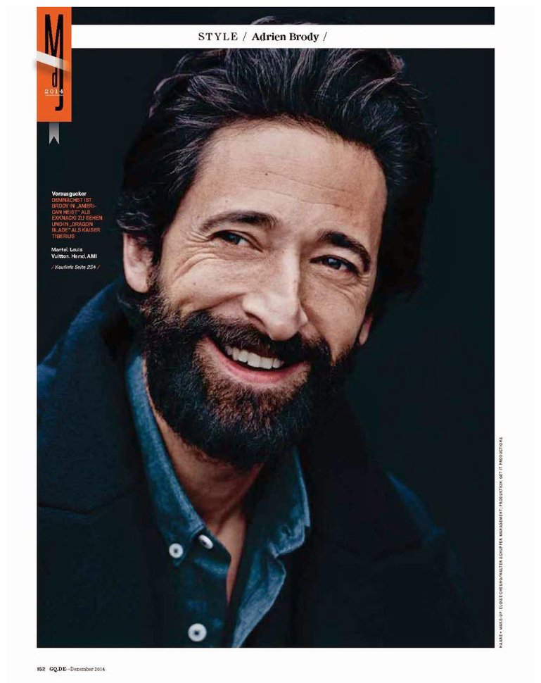 Blog Sight Management Adrien Brody Instagram