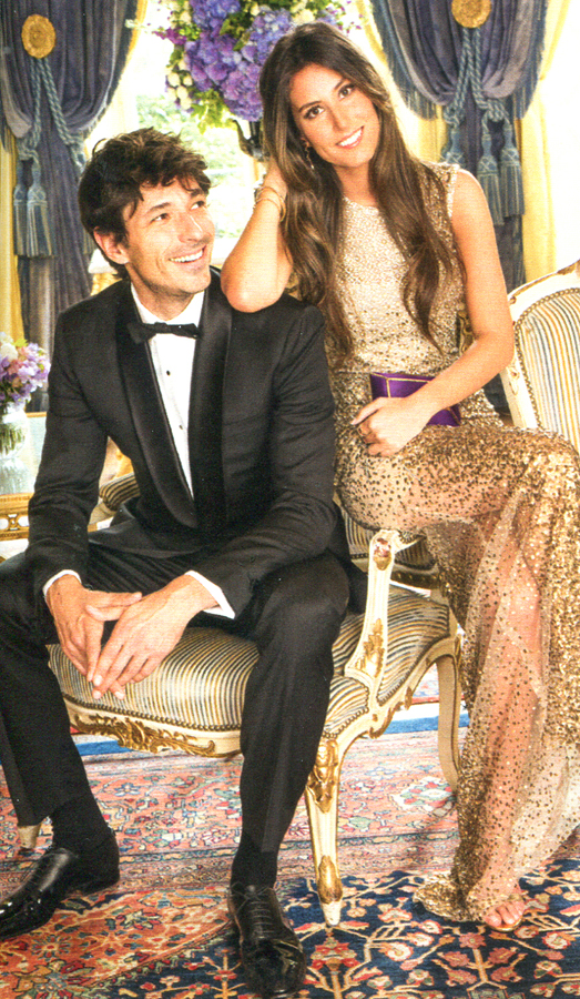 Andrés Velencoso and Ana Boyer