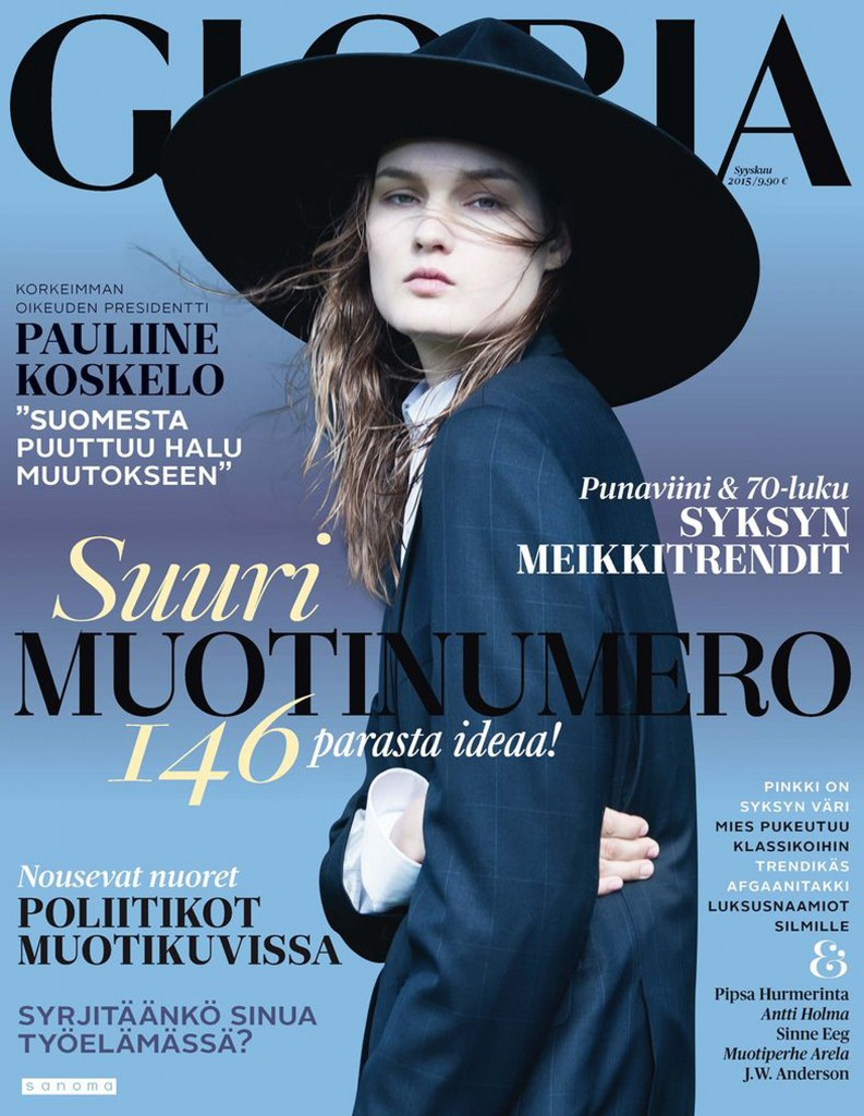 KIRSI-PYRHONEN-GLORIA-MAGAZINE-SEPTEMBER-2015-cover-793x1024