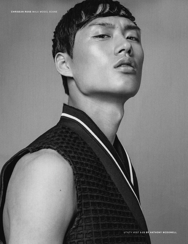 Chen Cong in 'True Grit' for Male Model Scene. Photos by Chrisean Rose. Styling by Roberto Johnson. Hair by Michael Fernandez. - chen_cong_male_model_scene_012
