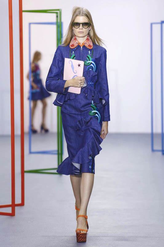 Holly Fulton Fashion Show Ready to Wear Collection Spring Summer 2016 in London