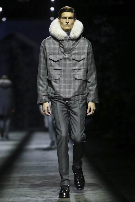 Brioni Menswear Fall Winter 2016 Collection in Milan