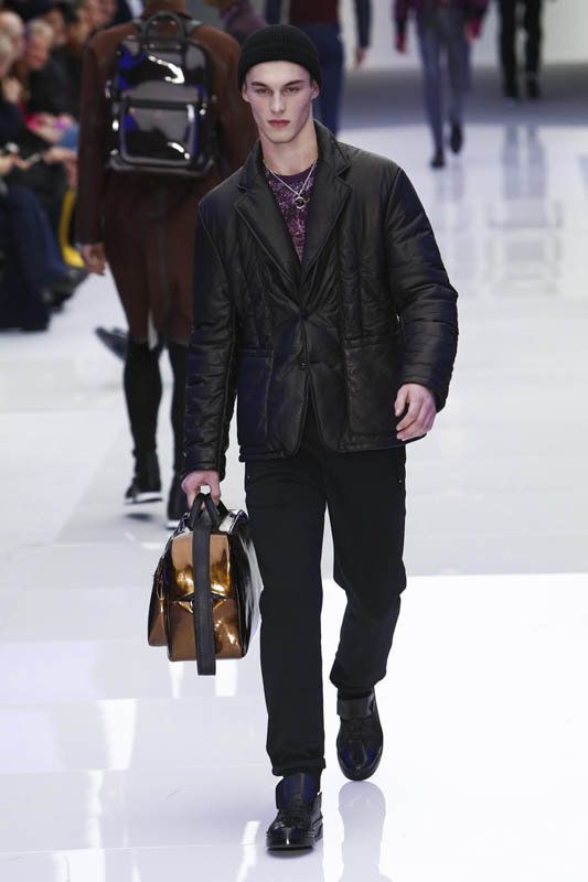 Versace Fashion Show, Menswear Collection Fall Winter 2016 in Milan