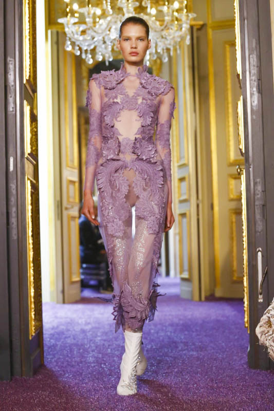 Francesco Scognamiglio, Fashion Show, Couture Fall Winter 2016 in Paris